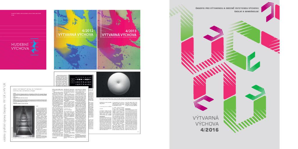 Zdeňka Urbanová časopis grafika UK