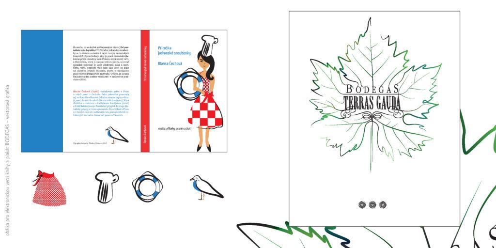 Zdeňka Urbanová vektorová ilustrace Blanka Čechová